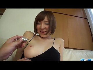 Hikaru shiina screams during superb toy porn scenes