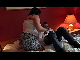 George and his friend s mom taboo session footjob handjob