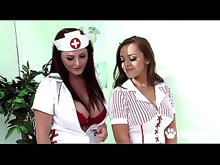 Sexy Nurses Lisa Del Sierra And Sophie Dee Service A Patients Dick