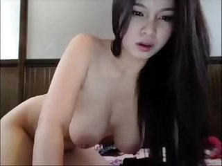 Asian beauty masturbates on webcam for more visit pornvideocorner period com