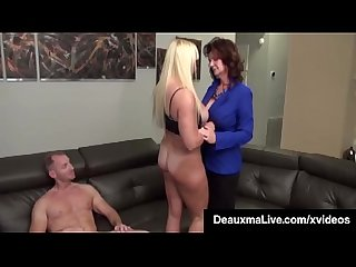 Busty mothers deauxma Alexis golden interracial foursome