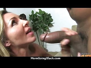 Older Women Gets Big Black Cock in Interracial Video 24