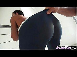 Anal hard sex scene with curvy oiled huge butt cute girl Jewels jade Vid 14