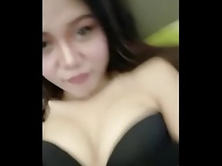 Indonesia girl show boobs
