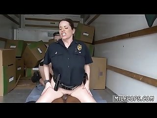 Cheating blonde mature milf black suspect taken on a rough ride