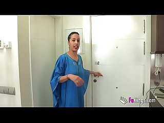 Muslim gal nayara is back to scream with pleasure in a great fuck