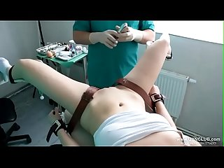 girls orgasm on the gynecological chair (31)