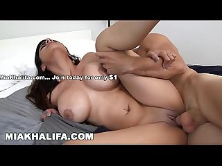 MIA KHALIFA - Arab Babe Passionately Fucked By Big Dick Stud, Sean Lawless