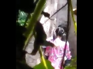 Myanmar spying young couple outdoor sex 14