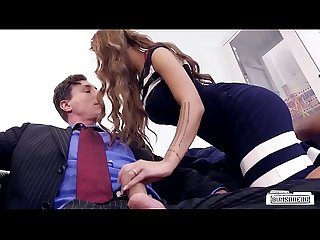 BUMS BUERO - German secretary Julie Hunter banged by her boss in office sex