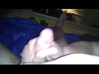 POV handjob by my lovely wifes friend while they make out. Tongues and oil