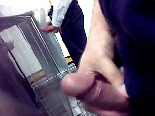 Toilet jerk off 1
