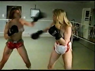 Mw nicole 2 on 1 boxing ko jenny wins