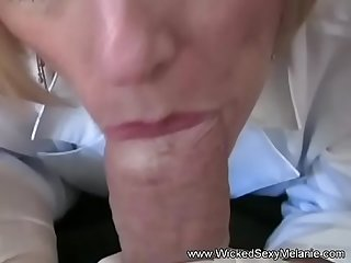 Granny Doctor Examines Son's Cock