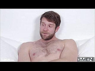 Hairy tattooed hunk colby keller cleans lucky daniels sweet hole with his sharp