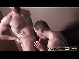 Gay asian boys having hardcore bareback sex sucking on just the head
