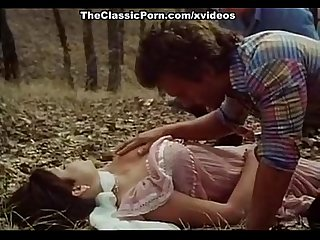 Desiree cousteau joey silvera in classic porn scene with threesome in the fores