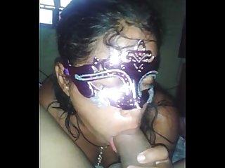 Venezolana jenn disfrutando