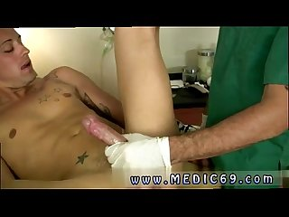 Men at the doctor nude gay full length Now that Brody's puckering