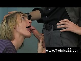 Twink video the adorable blond boy is getting a personal lesson in