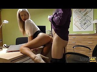 LOAN4K. Smoking hot young troublemaker