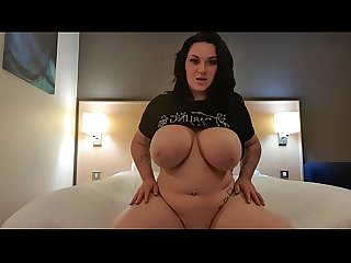 Hear how wet that pussy is as it bounces twerks and shakes sexy whore in a hotel room teasing in..
