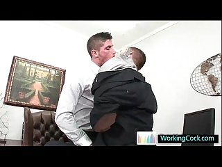 Amazing studs sucking and fucking at the office by workingcock
