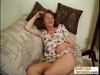 Horny granny needs more dick