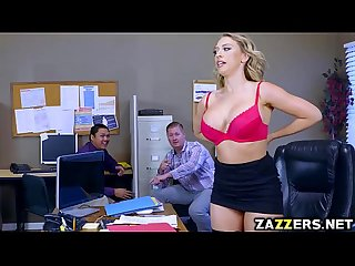 Kagney Linn Karter fuck by her boss hard on the table
