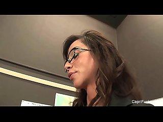 Capri cavanni sexy classroom