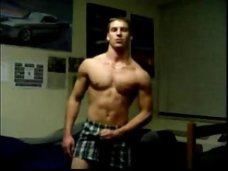 Horny Gay College Guy On Webcam