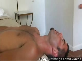 Cody cummings justin enjoyed sucking his cock