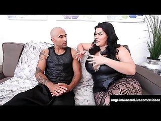 Luscious Latina Angelina Castro & BBC Fuck PAWG Sara Jay!