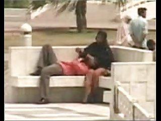Funny karachi couple at public park