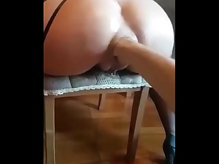 Crazy russian hooker anal fisting with squirt shower sextonight period club