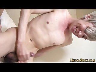 Japanese masseur Twink
