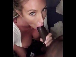Bimbo slut loves bbc