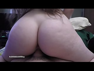 PAWG Reverse Cowgirl POV