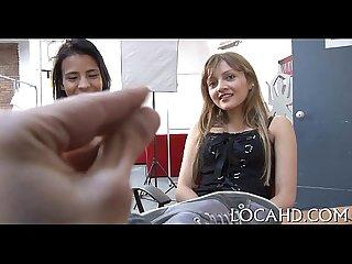 Latin chick porn casting
