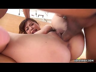 Japanese cutie mei wakana is eager to ride a dick