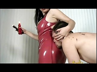 Naughty stud get spanked and punished by his hot dominatrix anastasia pierce