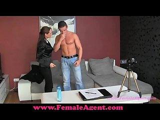 Femaleagent don t cum inside me