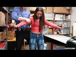 Latina Teen Fucked for Stealing