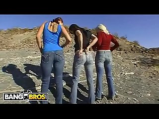 BANGBROS - Old School AssParade With Gianna Michaels, Bobbi Starr & Lorelei Lee
