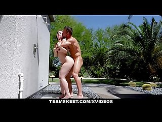 TeamSkeet - Fucking A Big Tit Teen By The Pool