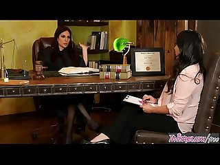 Dirty Lesbian judge (Jaclyn Taylor) fucks her young intern (Kimmy Granger) -..