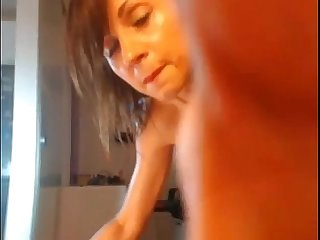 2 toys inside wet pussy and an orgasm