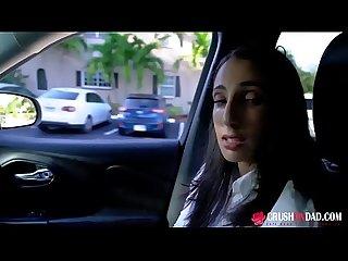 Angelica cruz gave her dad Blowjob after School