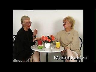Unbelievable granny does lesbian sex