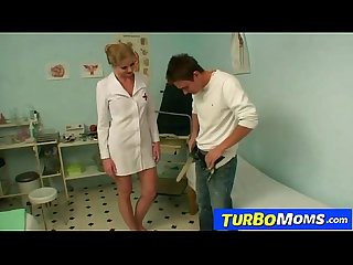 Hot milf doctor jenny b sexually abuses a young boy patient